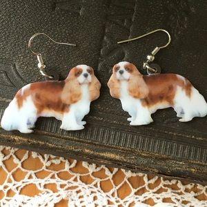 Kavalier King Charles Spaniel Earrings - Dogs